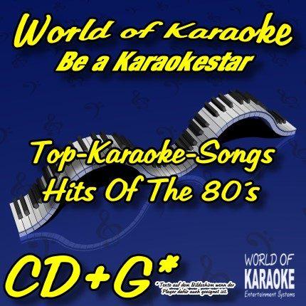 World-Of-Karaoke - Hits Of The 80´s - Karaoke Playbacks CD+G