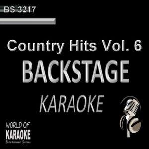 Country Hits Vol.6 – Karaoke Playbacks – BS 3217 - Top Country-Playbacks