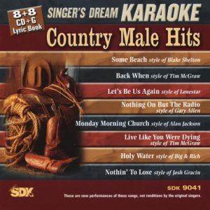 Country Male Hits - Karaoke Playbacks - SDK 9041