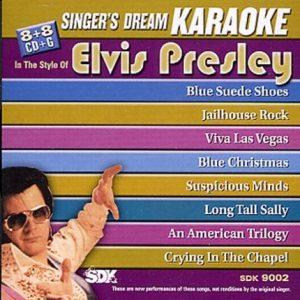 Elvis Presley - Karaoke Playbacks - SDK 9002