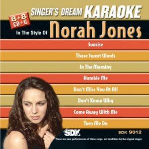 Norah Jones - Karaoke Playbacks - SDK 9012