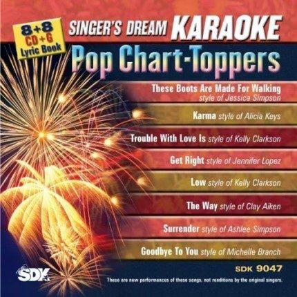 Pop Chart-Toppers - Karaoke Playbacks - SDK 9047