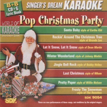 Pop Christmas Party – SDK 9054 – Karaoke Playbacks