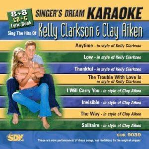 The Hits Of Kelly Clarkson & Clay Aiken - Karaoke Playbacks - SDK 9039