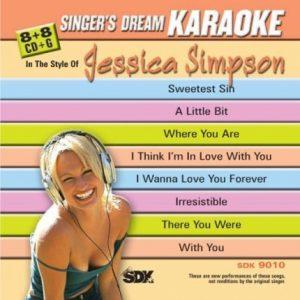Singer's Dream - Jessica Simpson - Karaoke Playbacks - SDK 9010