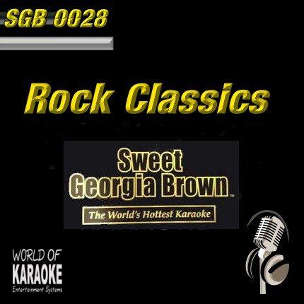 Sweet Georgia Brown - SGB0028 – Rock Classics – Rockige Karaoke Playbacks