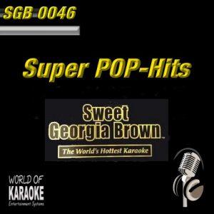 Sweet Georgia Brown - SGB0046 – Super Pop – Mega Karaoke Playbacks