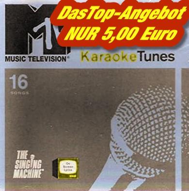 Test-Angebot - The Singing Machine - KARAOKE TUNES - MTV