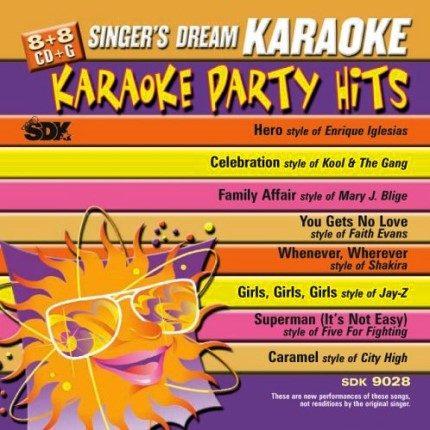 Top Party Hits - Karaoke Playbacks - SDK 9028